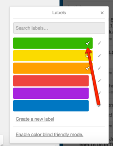 trello label color