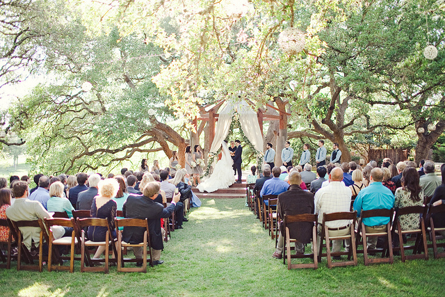 Austin outdoor wedding