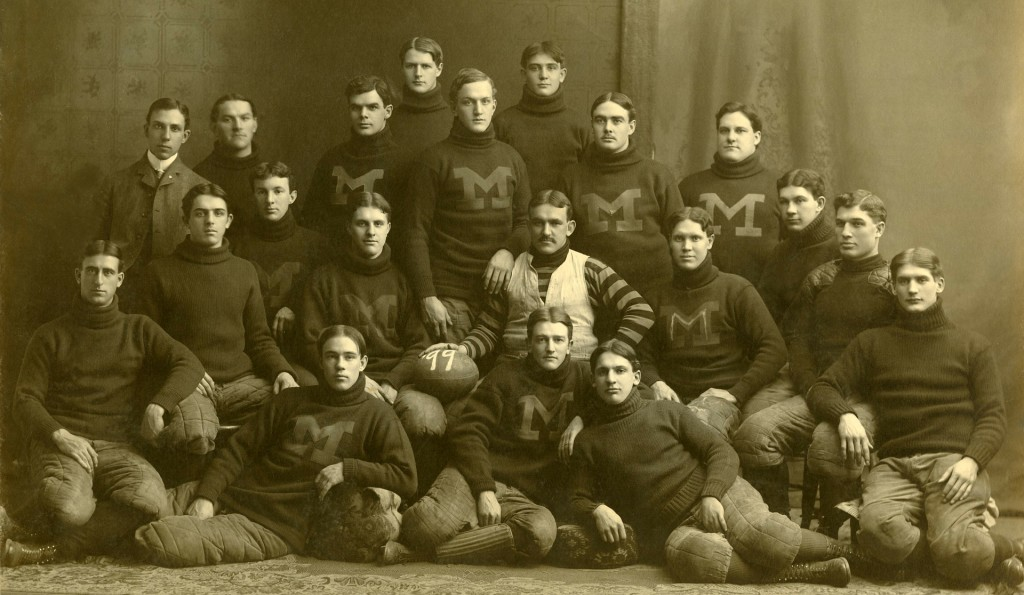 Live events are like football, who's on your team makes all the difference. (image: Michigan Wolverines - 1899)
